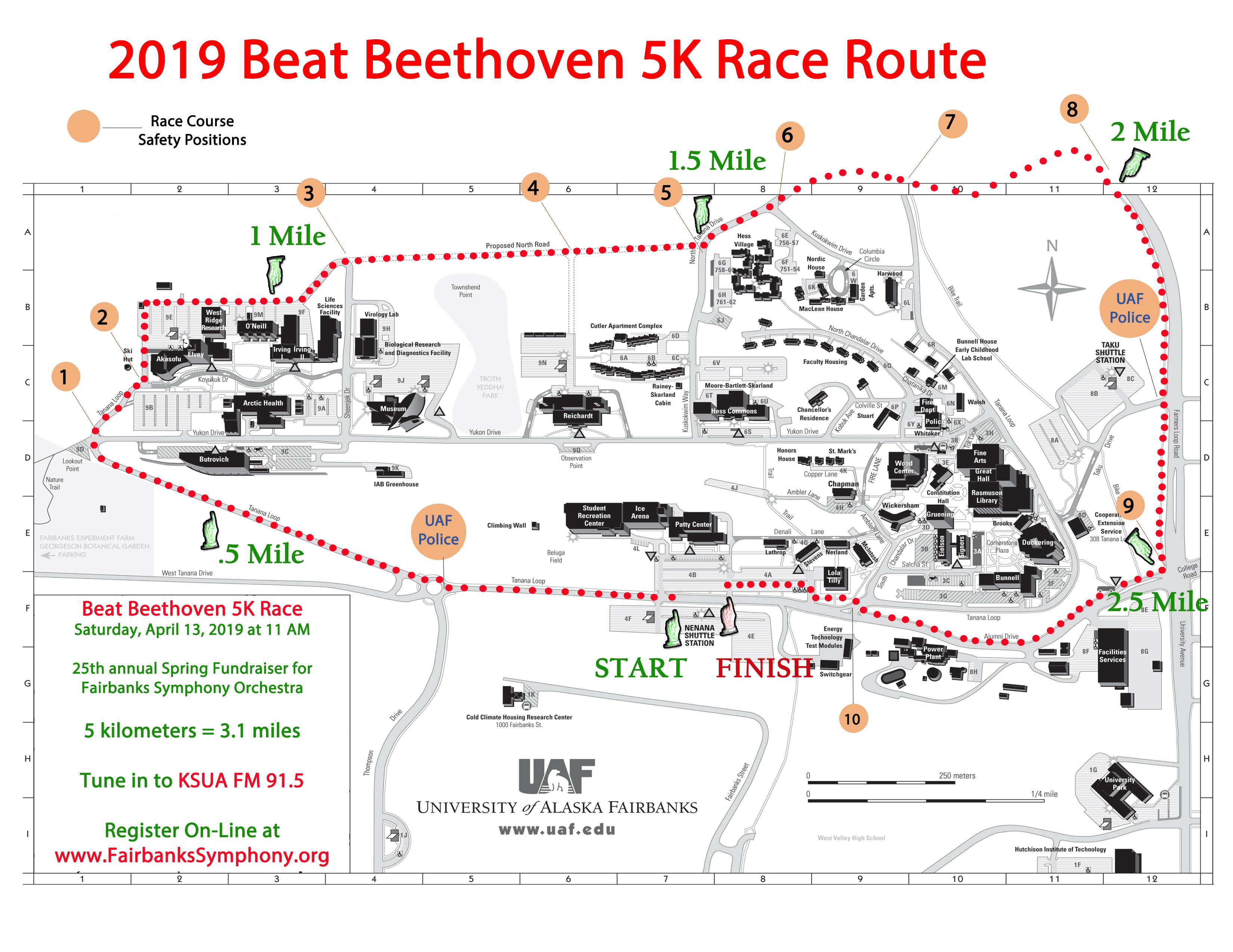 Beat Beethoven 5K - Fairbanks Symphony Orchestra